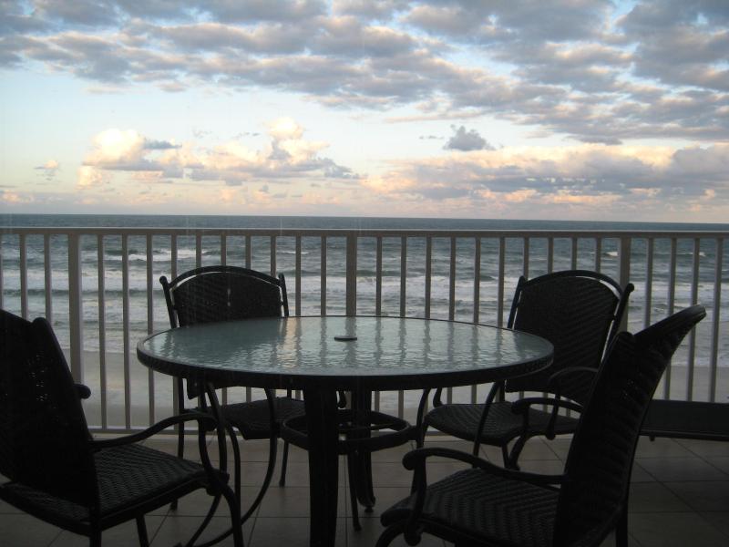 Oceanfront Balcony - Luxurious 3/3 Direct Oceanfront Corner Unit Condo - Daytona Beach - rentals