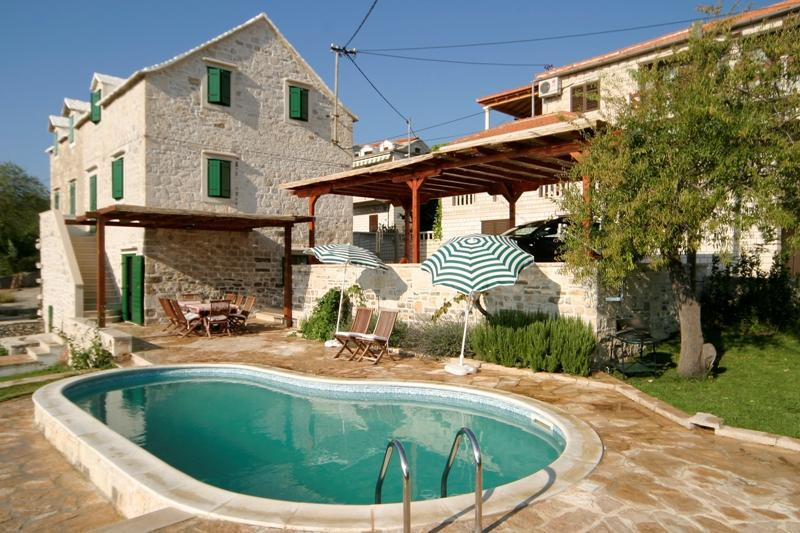 Exterior - 16 - Traditional Dalmatian Villa with Private Pool - Sumartin - rentals