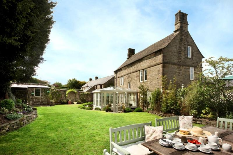 Afternoon tea in your walled garden at Elton Old Hall c1668 - Elton Old Hall c1668 5* Luxury Party House! - Peak District National Park - rentals