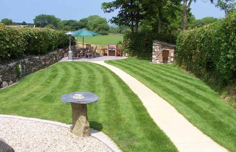 Garden 2 of 2 Private Gardens - Meadowview Cottage Luxury 5 Star Cottage Cornwall - Boscastle - rentals