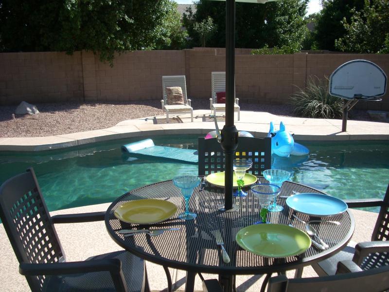 gated heated pool - Sunny Arizona heated pool-spa-Glendale-Peoria - Phoenix - rentals