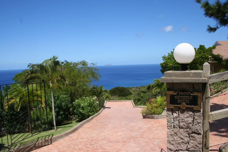 Entrance to Montserrat Breezes - Luxurious 5 BR/5.5  Bath Montserrat Villa - Montserrat - rentals