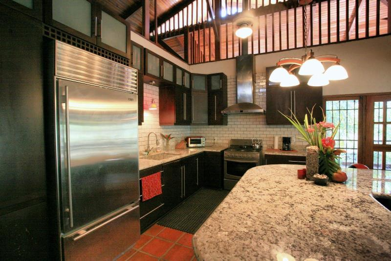 Commercial grade kitchen - Luxury Beachfront Estate, Maid, and Wifi Included! - Santa Teresa - rentals