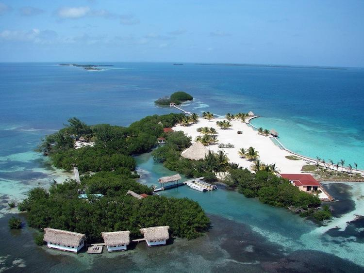 Aerial Shot - ROYAL BELIZE: Exclusive Private Vacation Island - Belize Cayes - rentals