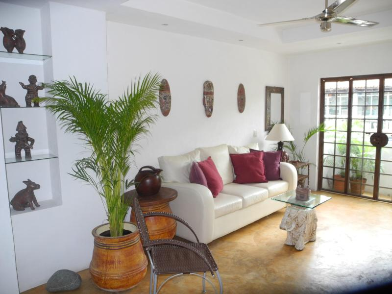 Living Room - Romantic Zone Loft, close to Beach & Nightlife - Puerto Vallarta - rentals