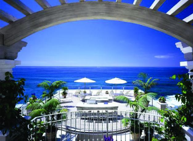 View from Villa Laguna Patio - 3 Bdrm, Luxe oceanfront property, turn key ready - Laguna Beach - rentals