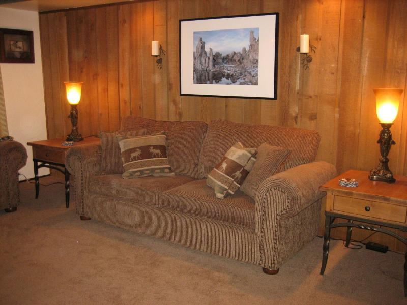Queen Sleep Sofa - In The Heart of Mammoth Lakes: 1 Bdr/1 Bath Condo - Mammoth Lakes - rentals