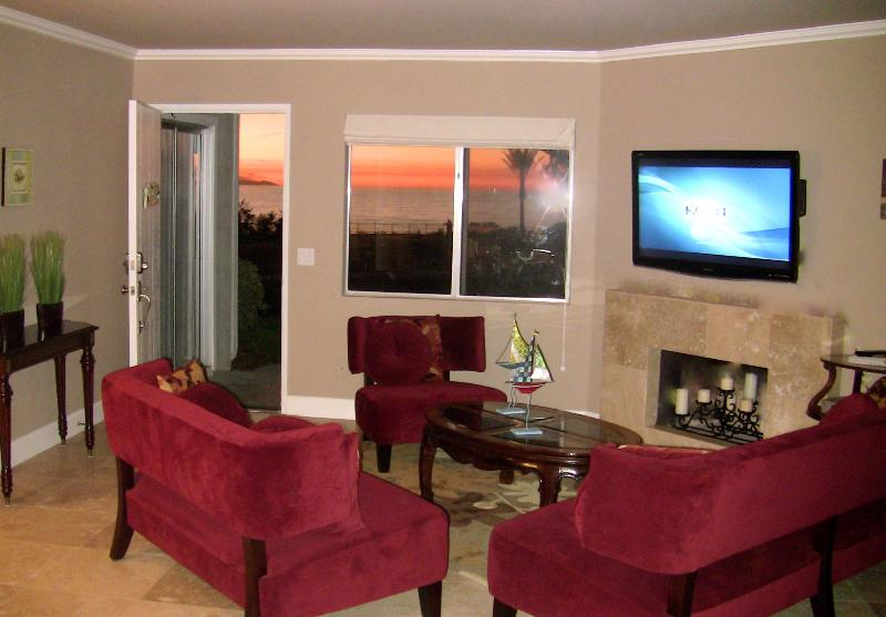 Watch the 46 inch flat screen HDTV or enjoy the turquoise blue ocean view! - Spectacular Ocean View from Every Room! Special Monthly Rate! - Dana Point - rentals