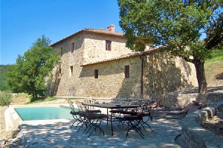 Superb Villa Le Vigne features lush vineyards, stone fireplace and infinity pool - Image 1 - Montalcino - rentals