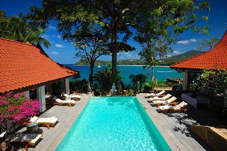 Secluded Baan Kata Keeree - 4 main buildings with private beach access & staff - Image 1 - Kata - rentals