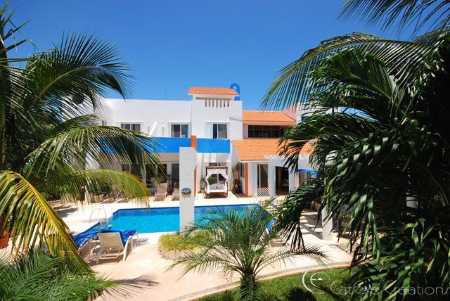 House Photo Sept 2010 - Casa Azul - Playa Paraiso - rentals