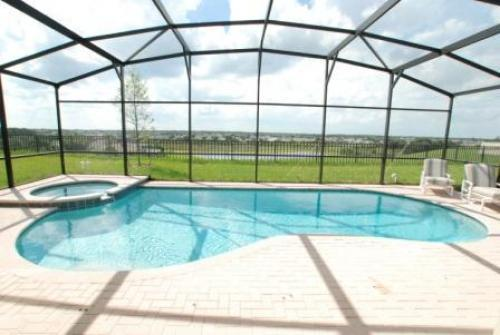 Pool and Hot tub - Brand New 5 Bedroom Home Windsor Hills Kissimmee - Kissimmee - rentals