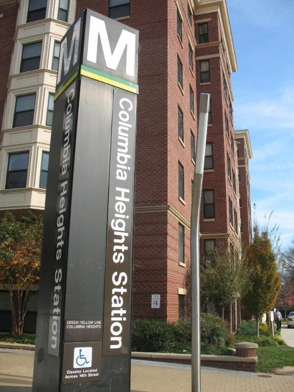 Closest metro stop - Col. Heights (green/yellow) just 3 blocks away from house - Beautiful two bedroom for family vacation - Washington DC - rentals