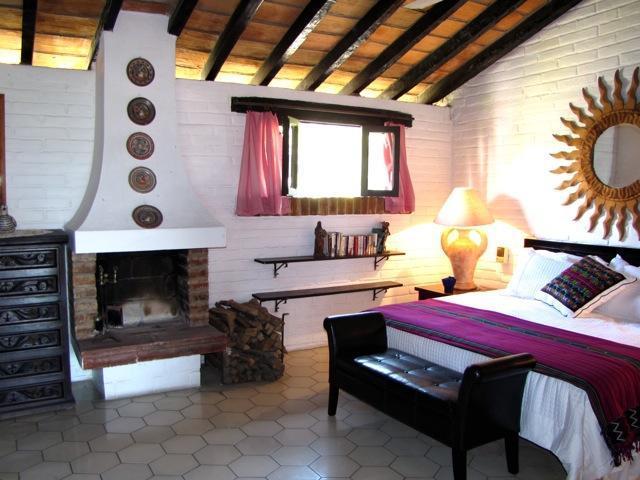 Bedroom has a Fireplace! - Romantic 1 BDRM Penthouse Condo with Ocean View - Puerto Vallarta - rentals