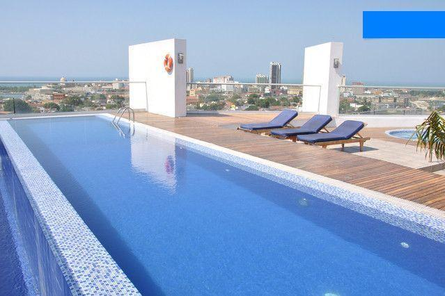 15 metre rooftop pool - High end studio with free airport pickup - Cartagena - rentals