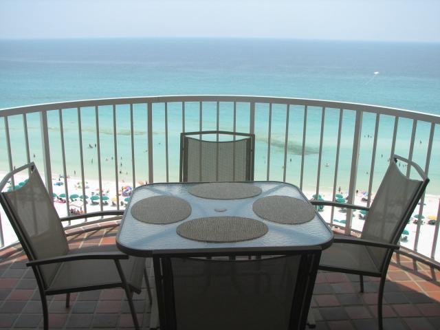 View from balcony - Hidden Dunes Gulfside 1105 - Miramar Beach - rentals
