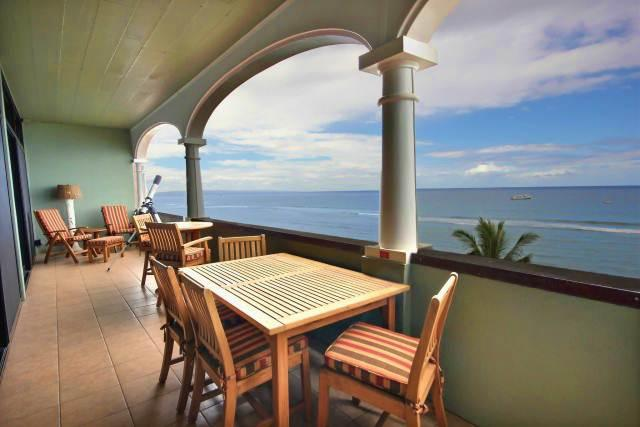 Lahaina Shores Penthouse #5 Ocean Front - Image 1 - Lahaina - rentals