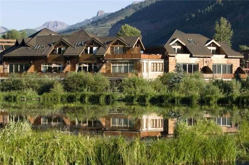 Exterior of Rivercrown - RIVERCROWN 1 - Telluride - rentals