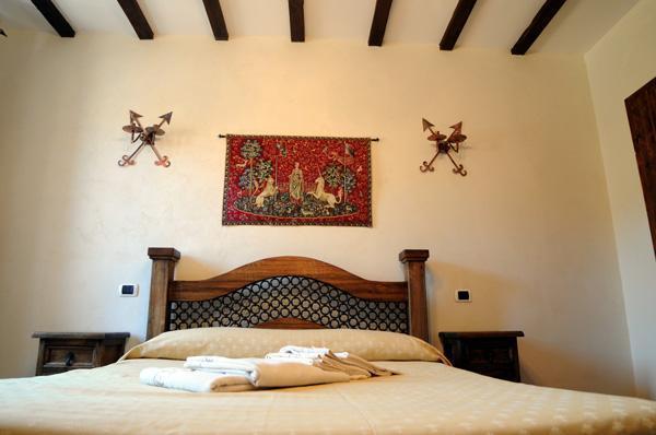 First bedroom - Beautiful flat in the historic centre of Tivoli - Tivoli - rentals