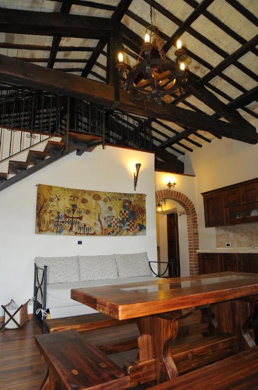 Living room - La dimora del ghibellino - Tivoli - rentals