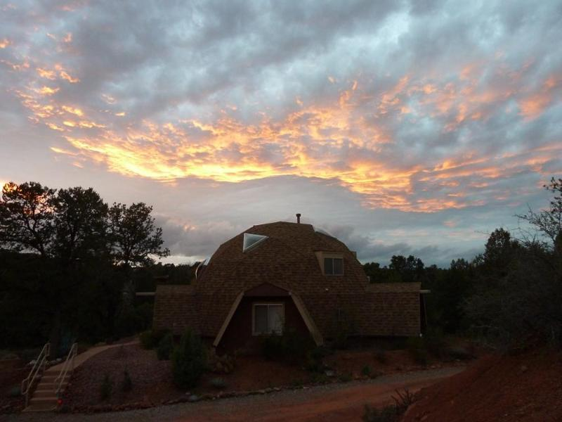 Dome Home with Aura :-) - My Sedona Place - Unique Dome Home w/High Energy! - Sedona - rentals