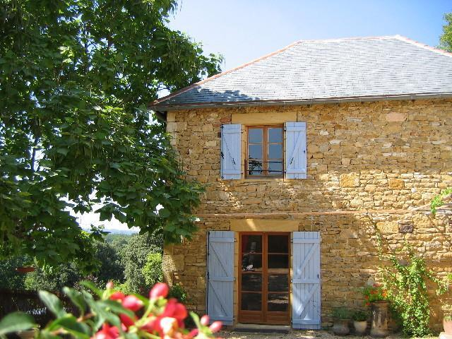 The Cottage - Sarlat Luxury cottage, pool, garden, stunning view - Sarlat-la-Canéda - rentals