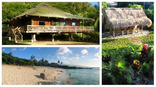 Welcome HOME! - North Shore Oahu Tropical Luxury Private BeachHome - Sleeps 6 - Haleiwa - rentals