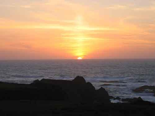 Glorious sunsets - Sea Haven - oceanfront near Mendocino - Mendocino - rentals