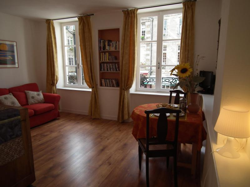 Beautiful apartment in heart of medieval Dinan - Image 1 - Dinan - rentals