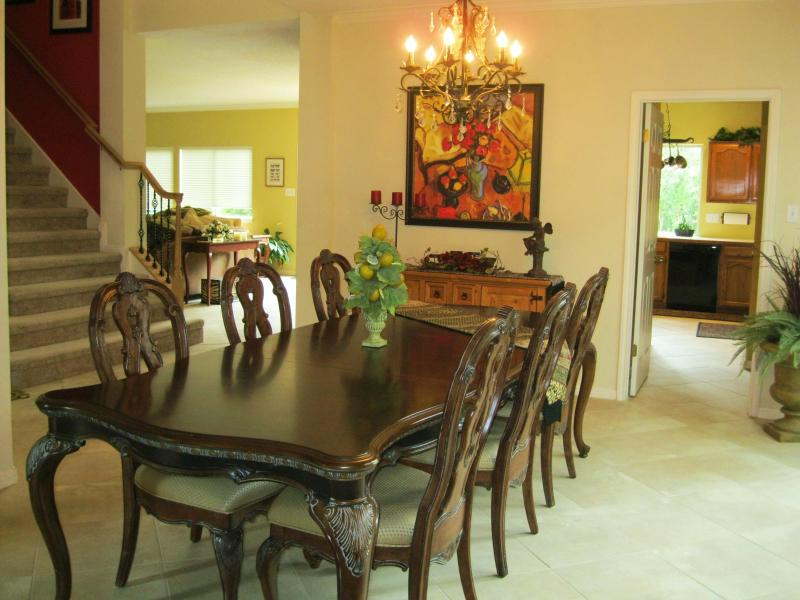 Formal Dining Room - One of Three Dining Areas - Wow!Luxe 5-Bedrom Between Downtown & Lakes 3200 SF - Austin - rentals