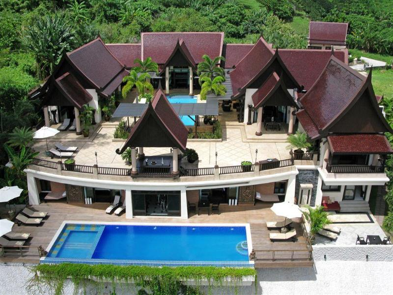 www.bannchangthai.com    Overview of the house. - Luxury 7-9 Bedroom Villa,Kamala, Phuket, Thailand - Kamala - rentals