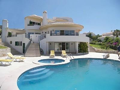 View From Pool - V5 - LUXURY VILLA IN ALBUFEIRA, ALGARVE, PORTUGAL - Albufeira - rentals