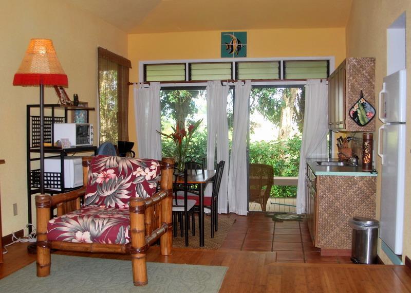 Golf Course view - Princeville, Kauai Hawaii Budget Studio Cottage - Princeville - rentals