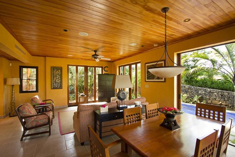 Great Room from Dining Room - Exquisite Tamarindo Preserve Home with Beach Club - Tamarindo - rentals