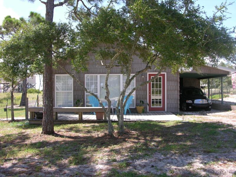 Front of house - Points To View, LLC - Alligator Point - rentals