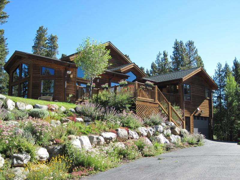 Front View during Summer - Beautiful Home, Great Location & View - Breckenridge - rentals