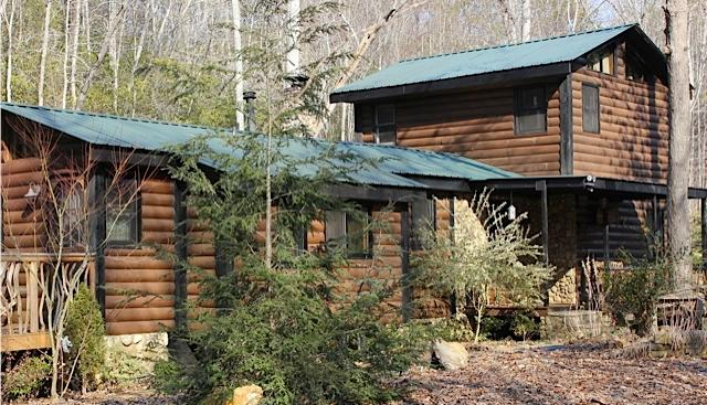 Front of Cabin - Mountain Wonderland w/ Private Pond and Creek - Blairsville - rentals