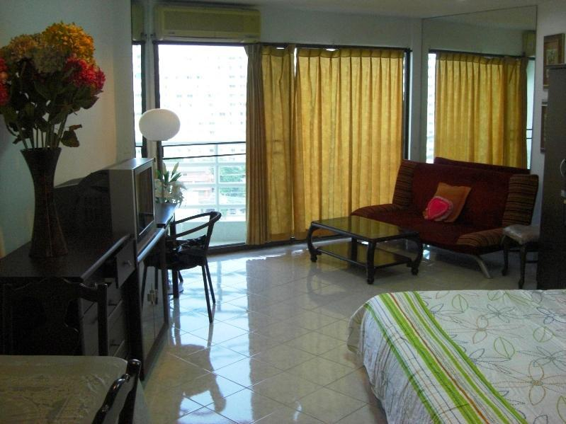 interior - North Jomtien Beach Studio Furnished & 50m Pool - Jomtien Beach - rentals