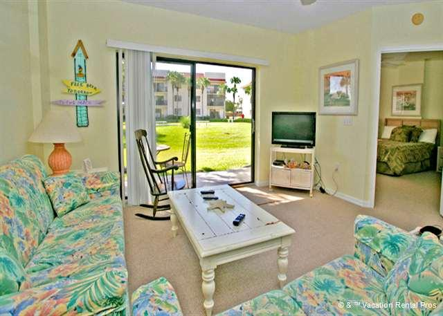 Relax in our casual atmosphere - Ocean Village Q14, Ground Floor Unit, 2 pools, beach - Saint Augustine - rentals