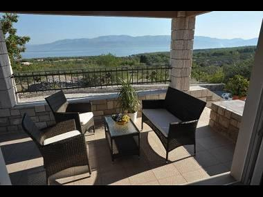 H(4+2): terrace view - 2627  H(4+2) - Mirca - Mirca - rentals