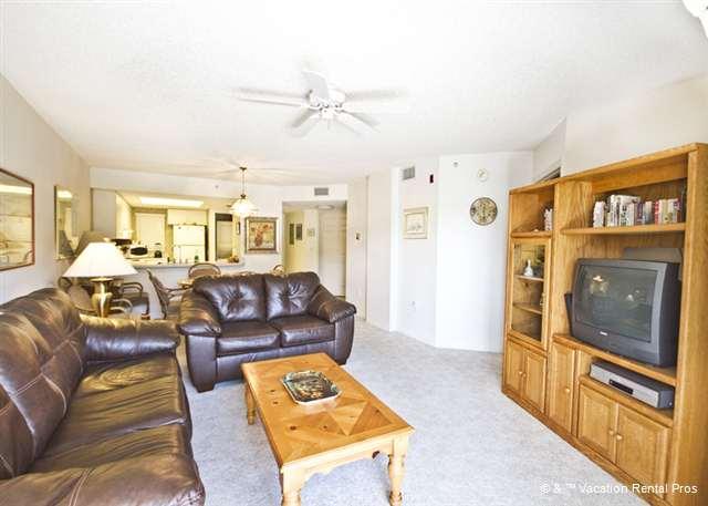 Unwind in style in our beautifully furnished living room! - Ocean Village F14, Ground Floor, 2 pools, St Augustine FL - Saint Augustine - rentals