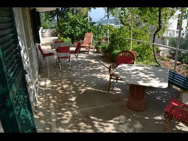 A2(4+2): garden terrace - 002SELC A2(4+2) - Selca - Selca - rentals