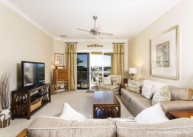 Cinnamon Beach 1134 comfortably houses six people - 1134 Cinnamon Beach, 3rd Floor, Elevator, 2 Pools, HDTV, Wifi - Palm Coast - rentals