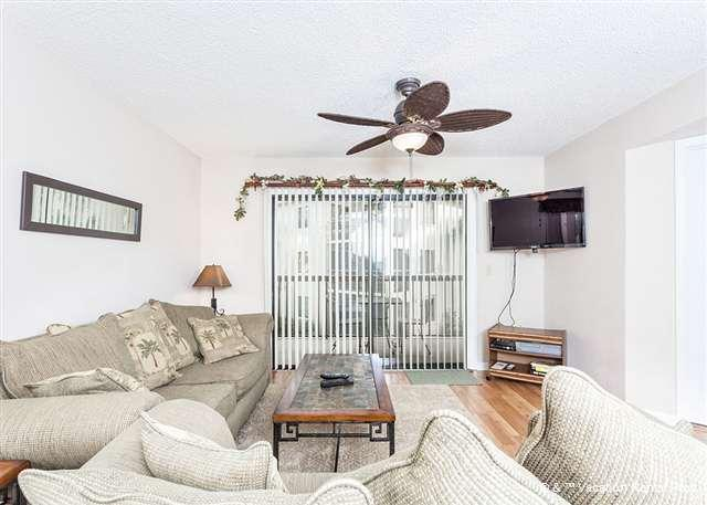Welcome to our large, comfy 2nd-storey condo! - Ocean Village J24, 2nd Floor unit, Elevator, 2 pools tennis - Saint Augustine - rentals