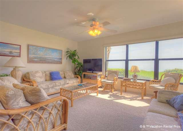 Everything is within sight at Sand Dollar III 102 - Sand Dollar III 102 BeachFront 3 Bedroom with Pool, St Augustine - Saint Augustine - rentals