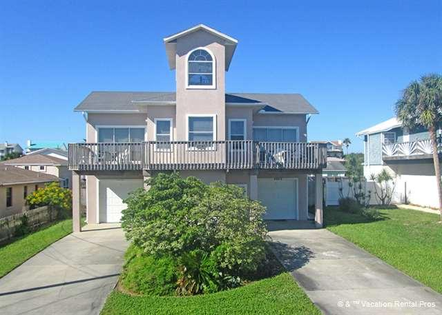 Welcome to the best vacation of your life! Pull right in! - Atlantic View 4955, Ocean View Beach Home with Pool - Saint Augustine - rentals