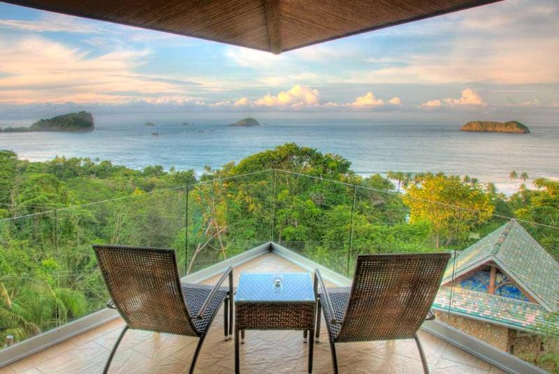 Villa Punto de Vista - Master Suite Balcony! - Architecturally Stunning Staffed 10BR Luxury Villa - Manuel Antonio National Park - rentals