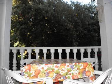 A2(4): covered terrace - 2642 A2(4) - Zaton (Zadar) - Zaton (Zadar) - rentals