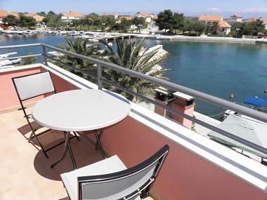 A2(2+3): terrace - 2609 A2(2+3) - Poljana - Poljana - rentals