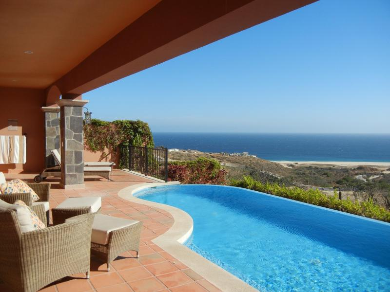 Heated infinity edge pool with view of Pacific Ocean - Luxurious, Affordable Villa within a 5 Star Resort - Cabo San Lucas - rentals